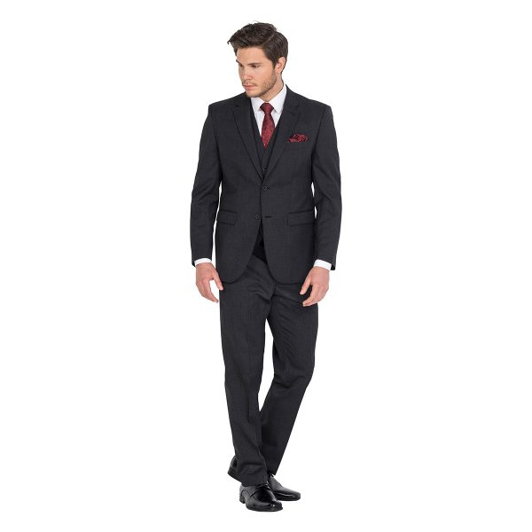 Barney School Ball Charcoal Hire Suit