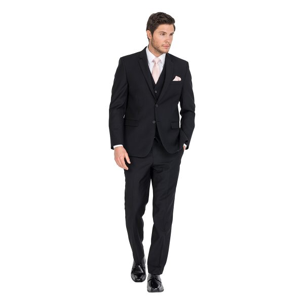 Chicago Black Formal Hire Suit