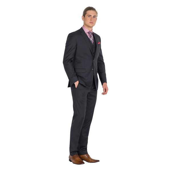 DHJK029 Charcoal Jacket School Formal