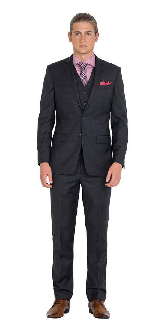 DHJK029 Charcoal Jacket School Formal