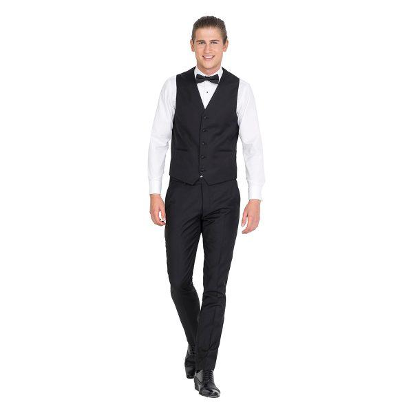 DHV002 School Formal Black Dinner Vest