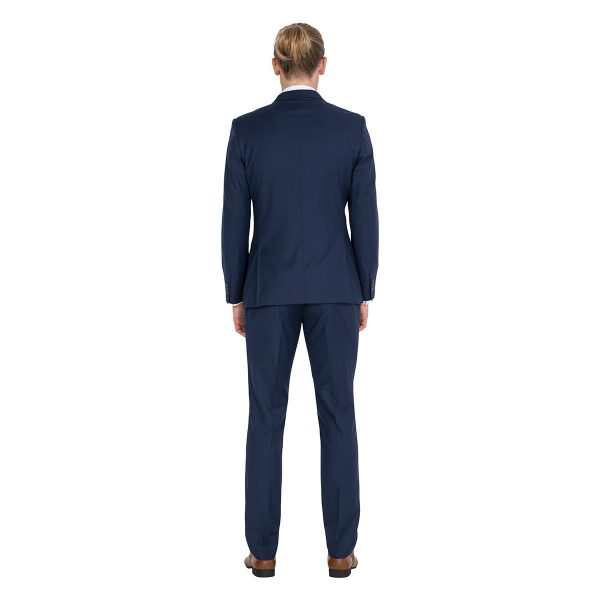 IJK044 Issimo tailored fit navy suit school ball jacket