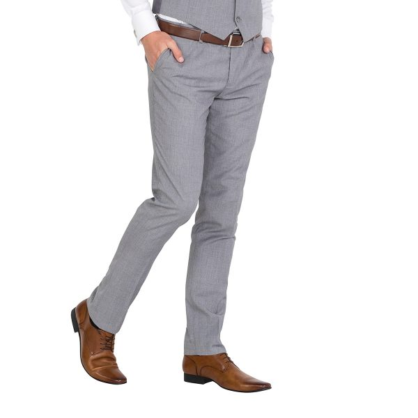 IP043 Grey Tailored Formal Trouser