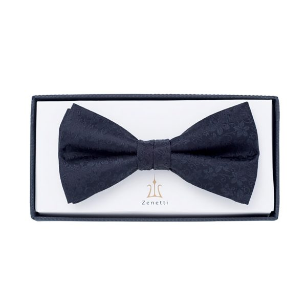 ZBT003 School Ball Black Bow Tie