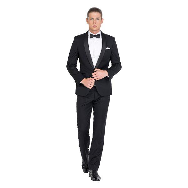 Zenetti ZJK023 school ball tailored fit tuxedo jacket