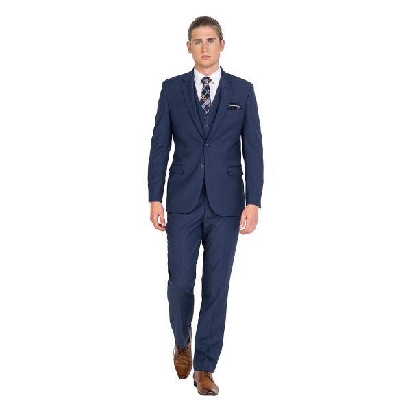 ZJK042 Blue School Formal Classic Fit Suit