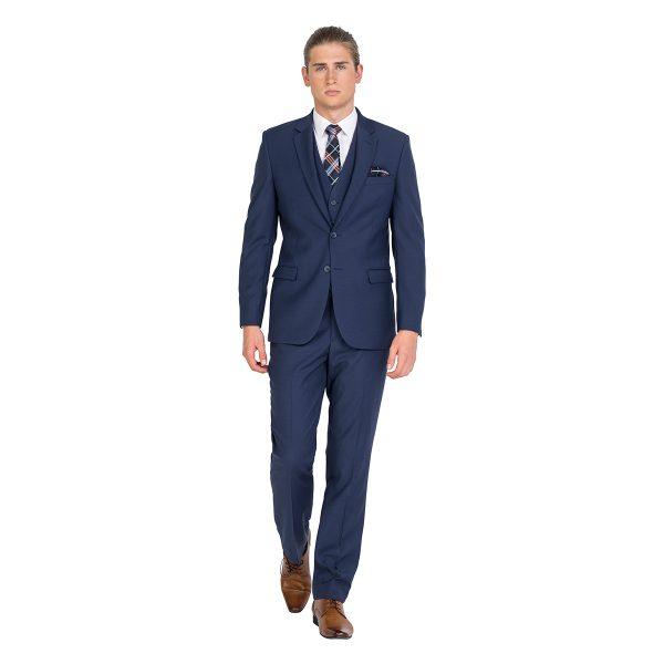 ZJK042 Blue School Formal Classic Fit Suit