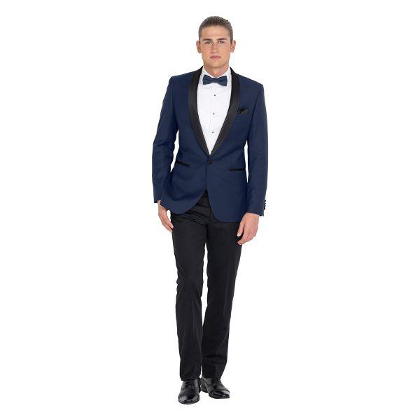ZJK043 School Formal blue tuxedo