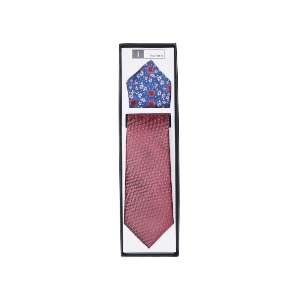 ITH027 Red Tie & Hank Set