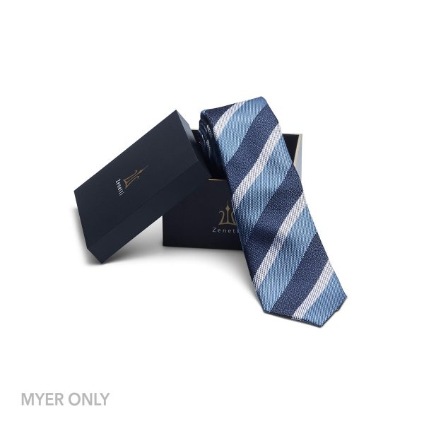 ZTH060 Blue Tie and Hank Box Set