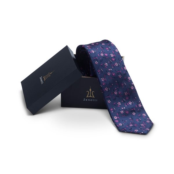 ZTH063 Pink Tie and Hank Box Set