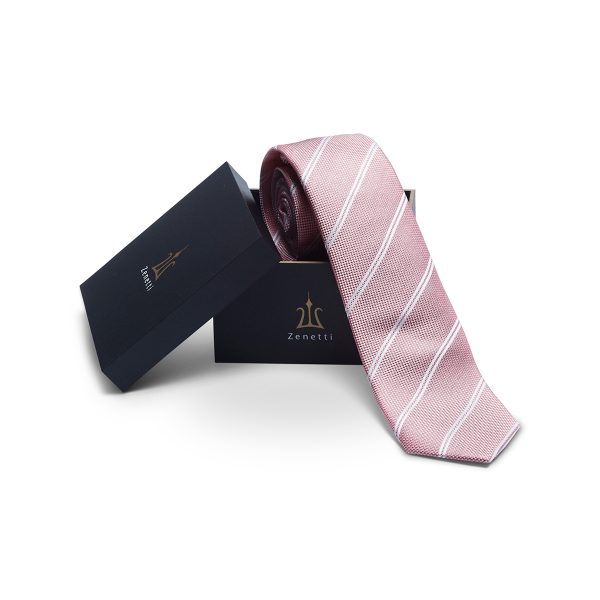 ZTH068 Coral Tie and Hank Box Set